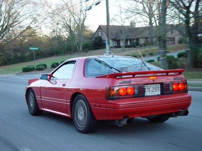 Spike would drive a 1990 Mazda RX-7. What would Daring Do have?