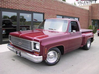 Gilda would drive a 1980 Chevrolet C-10. What would King Sombra have?