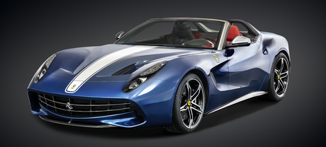 RD would drive a 2015 Ferrari F60 America. What would Tank have?
