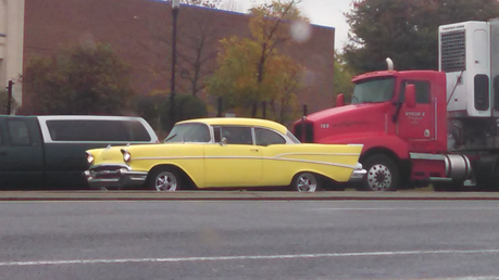 Gummy would drive a 1957 Chevrolet Bel Air. What would Applebloom have?
