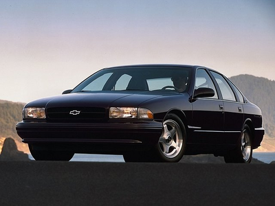 AJ would drive a 1996 Chevrolet Impala SS. What would Rarity have?