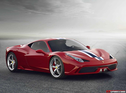 EQ রামধনু Dash would drive a 2014 Ferrari 458 Italia Speciale. What would EQ Fluttershy have?