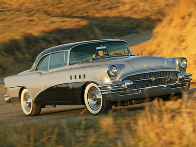 Wow... I can't believe this! My volgende car would have been the '55 Roadmaster!!! Honest! xD Oh well...