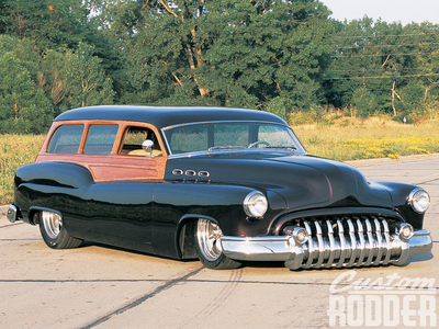Amethyst estrela would drive a 1950 Buick Roadmaster Station wagon. What would Lightning Dust have?