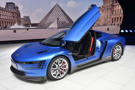 Soarin' would drive a 2015 Volkswagen XL-S. What would Lightning Dust have?
