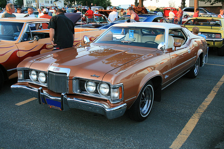 Boulder would drive a 1971 Mercury Cougar. What would Maud Pie have?