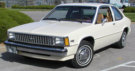 Lily would drive a 1981 Chevrolet Citation. What would wolk Kicker have?