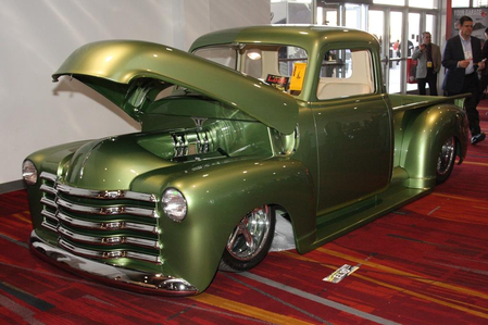 Big Mac would drive a custom 1948 Chevrolet 3100. What would Braeburn have?