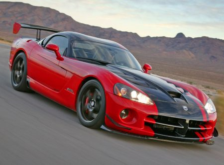 Braeburn would drive a 2010 Dodge viper ACR. What would ceri, cherry Jubilee have?