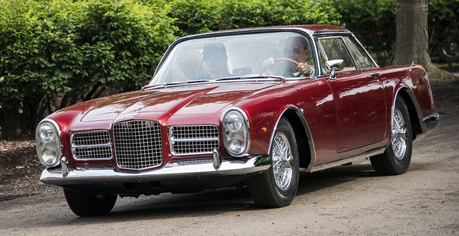 ceri, cherry Jubilee would drive a 1955 Facel Vega. What would Ms. Harshwhinny have?