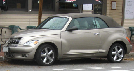 Ms. Harshwhinny would drive a 2005 Chrysler PT Cruiser. What would Mr. Greenhooves have?