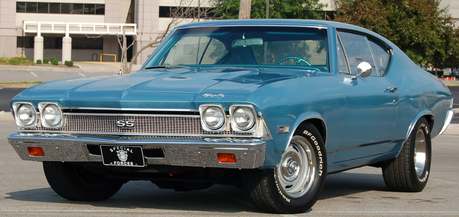 Iron Will would drive a 1968 Chevrolet Chevelle. What would Fluttershy have?