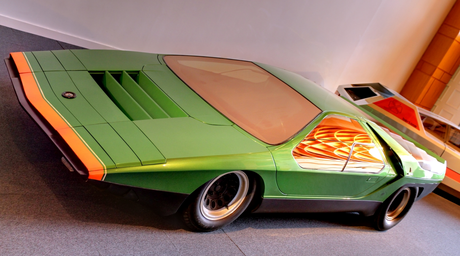 Maud Pie would drive a 1967 Bertone Scarabo. What would Inky Pie have?
