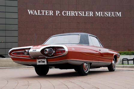 Whiplash would drive a 1964 Chrysler Ghia Turbine Car. What would Soarin' have?