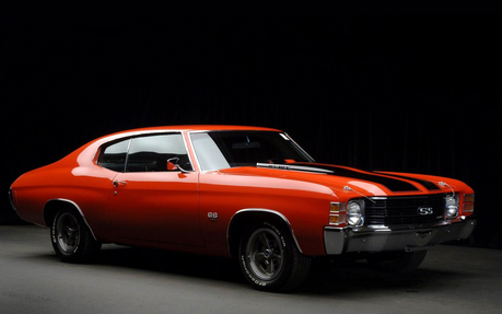 Fleetfoot would drive a 1971 Chevrolet Chevelle SS. What would Spitfire have?