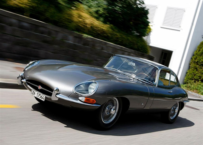 Luna would drive a 1961 Jaguar E-Type. What would Cadence have?