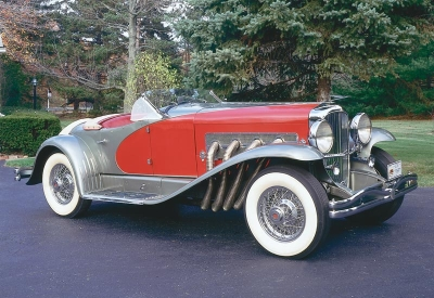 Princess Cadence would drive a Duesenberg convertible. What would Shining Armor have?