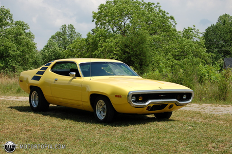 Flash Sentry would drive a 1971 Plymouth Satellite. What would litrato Finish have?