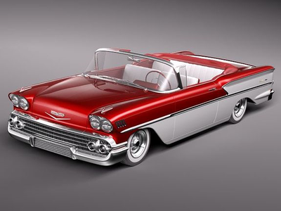 litrato Finish would drive a 1958 Chevrolet Bel Air. What would Sapphire Shores have?