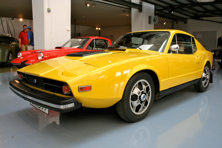 Twist would drive 1974 Saab Sonett III. What would Zecora have?