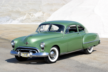 Luna would drive a 1949 Oldsmobile 88. what would Shining Armor have?