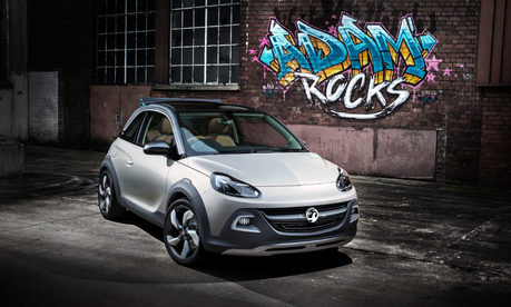 The CMC would drive a 2014 Opel Adam Rocks. What would Dr. Cabaleron have?