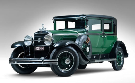 King Sombra would drive a 1928 Cadillac V8 Town Sedan. What would a changling drive? (That's Al C