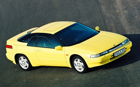 Aria Blaze would drive a 1995 Subaru SVX. What would Adagio Dazzle have?