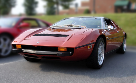 Tirek would drive a 1968 Maserati Bora. What would Scorpan have?