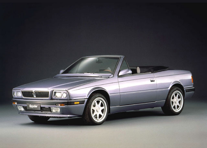 Cheerilee would drive a 1990 Maserati Biturbo Spyder. What would Featherweight have?