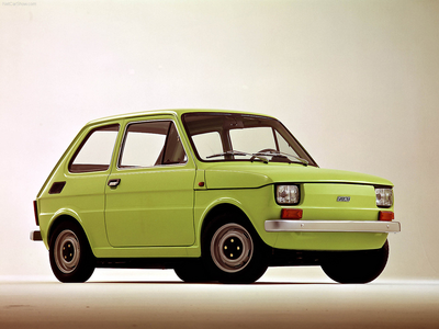 Pipsqueak would drive a 1979 Polski Fiat 126P. What would Iron Will have?