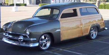 Twilight Sky would drive a 1951 Ford Woodie Wagon. What would Carrot вверх have?