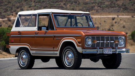 Carrot вверх would drive a 1966 Ford Bronco. What would Noteworthy have?
