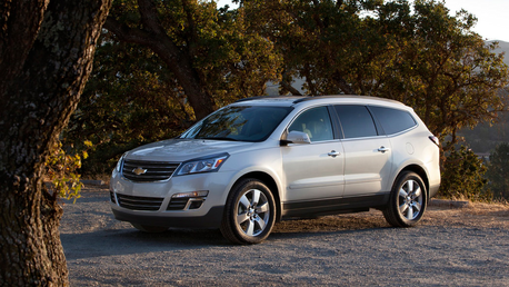 Noteworthy would drive a 2015 Chevrolet Traverse. What would Matilda have?