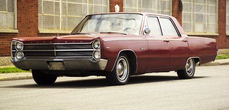 Matilda would drive a 1967 Plymouth Fury. what would Gustav have?