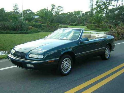 Gustav would drive a 1994 Chrysler Lebaron. What would Cranky Doodle Donkey have?