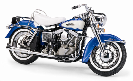 Discord would drive a 1966 Harley Davidson FLH Electra Glide. That's basically the only pic I have of