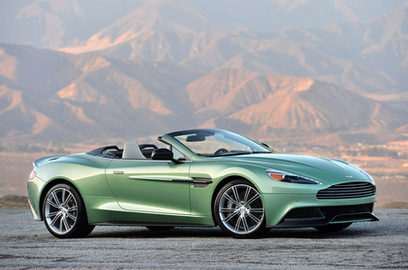Summer Pride would drive a 2014 Aston Martin Vanquish V12 Volatne. What would your OC Shredder have?