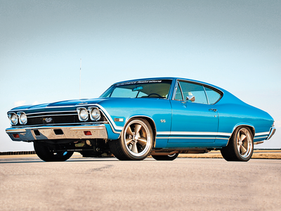 Pierce Hawkins would drive a 1968 Chevrolet Chevelle SS. What would Edvine's OC Power Play have?
