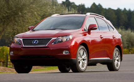 Cheerilee would drive a 2014 Lexus RX 350. What would Gilda drive?