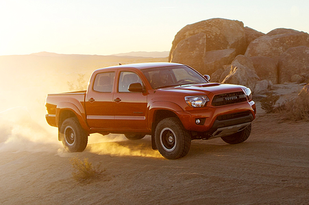 アップルジャック, applejack would have a Toyota Tacoma TRD Pro. What would 虹 Dash have?