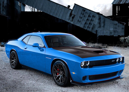 Lightning Dust would have a 2015 Dodge Challenger Hellcat. What would Spitfire have?