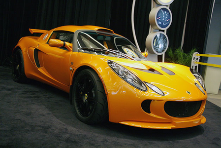 Spitfire would drive a 2008 Lotus Elise. what would Bulk Biceps have?