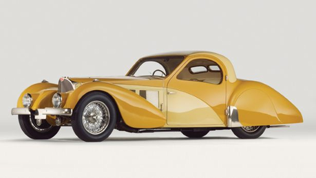 Adagio Dazzle would drive a 1937 Bugatti Type 57C Coupe. what would Sonata Dusk have?