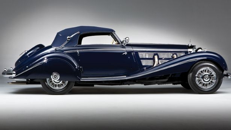 Luna would drive a 1937 Mercedes 540K Cabriolet. what would Mayor Mare have?