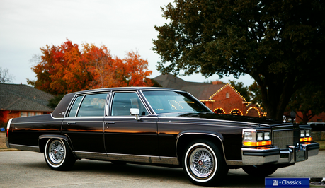 Ms. Harshwhinny would drive a 1987 Cadillac Fleetwood Brougham. What would Shining Armor have?
