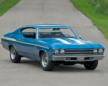 Blossomforth would drive a 1968 Chevrolet Chevelle. What would Midnight Strike have?