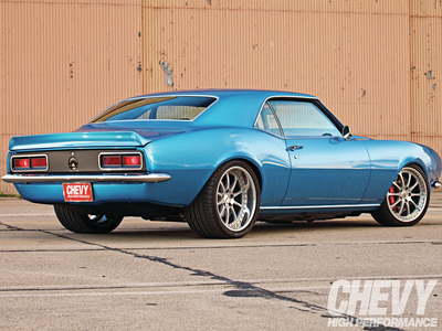 Soarin' would drive a 1969 Chevy Camaro. What would Fleetfoot have?