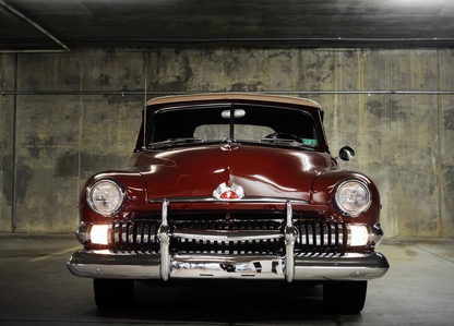 Owlowicious would drive a 1951 Mercury Eight Convertible. What would Tank have?
