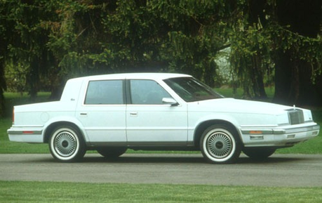 Cloudchaser would drive a 1991 Chrysler New Yorker. What would nuage Kicker have?